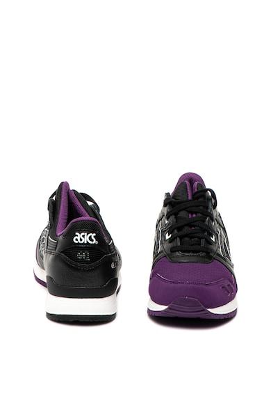 Asics Pantofi sport unisex cu insertii de piele peliculizata Gel Lyte III Femei