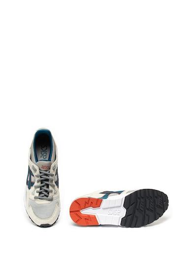 Asics Pantofi sport unisex cu insertii de piele intoarsa ecologica Gel Lyte V Femei