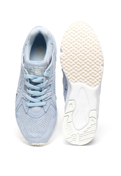 Asics Pantofi sport unisex slip-on cu garnituri de piele intoarsa Gel-Ds Trainer Femei