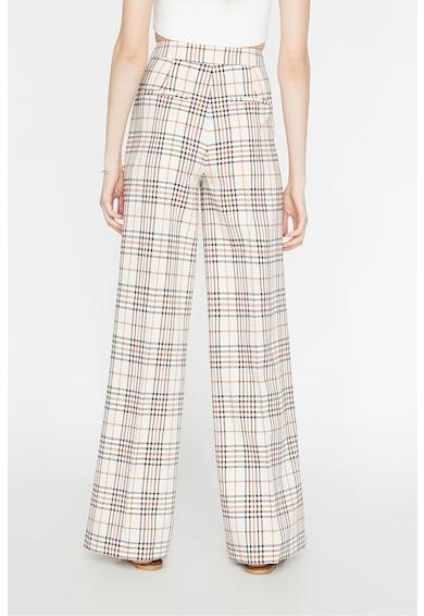 KOTON Pantaloni cu croiala ampla si talie inalta Femei