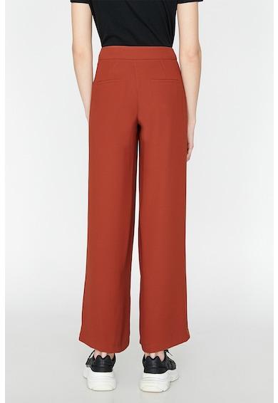 KOTON Pantaloni cu croiala ampla si buzunare cu refilet pe partea din spate Femei