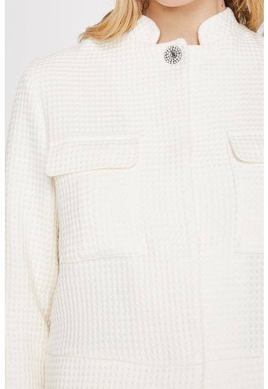 KOTON Palton scurt cu aspect texturat Femei