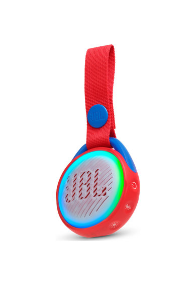JBL Boxa Portabila Copii  JR POP, Wireless Bluetooth, IPX7 Waterproof, 5h Playback, Lightshow, Auto-power off Femei