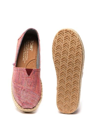TOMS Pantofi slip-on Alpargata Fete