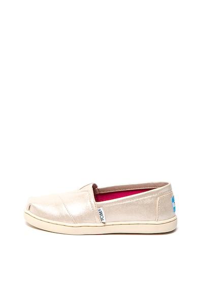 TOMS Pantofi slip-on de piele ecologica Classic Fete