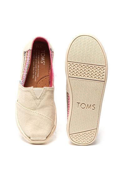 TOMS Pantofi slip-on tip espadrile Classic Fete