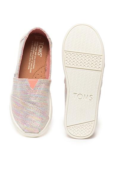 TOMS Pantofi slip-on cu insertii lucioase Classic Fete
