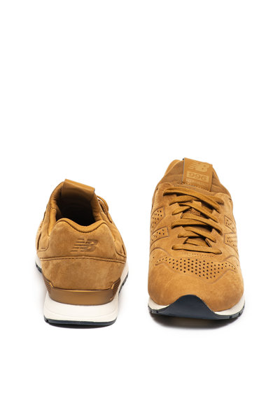 New Balance 996 nubuk bőr és textil bebújós sneaker férfi