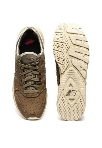 New Balance Bebújós sneaker nyersbőr betétekkel férfi