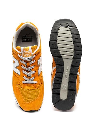 New Balance Велурени спортни обувки 996 с текстилни елементи Мъже