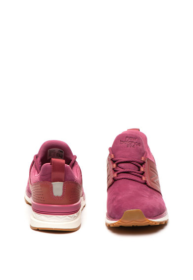 New Balance Спортни обувки 574 с кожа и мрежести зони Жени