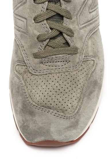 New Balance 996 nyersbőr és textil sneaker férfi