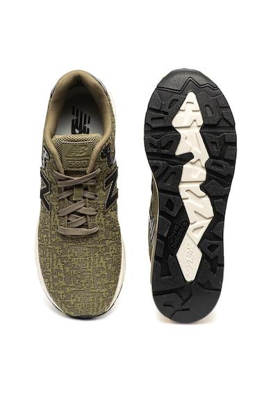 New Balance Pantofi sport cu model texturat 580 Barbati