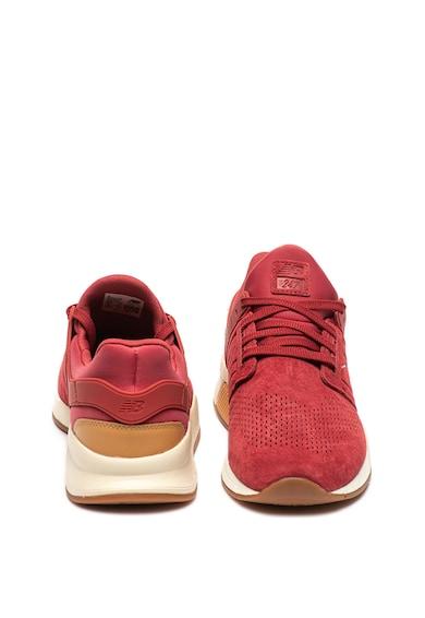 New Balance 247 bebújós sneaker nyersbőr részletekkel férfi