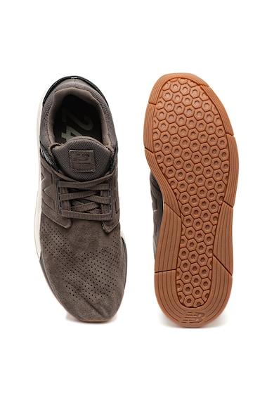 New Balance Спортни обувки 247 от велур Мъже