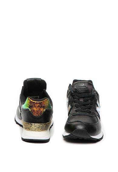 New Balance 574 Classics műbőr sneaker színjátszós részletekkel női