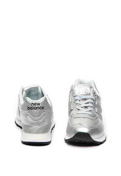 New Balance 574 műbőr és textil sneaker női