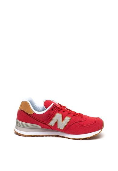 New Balance Pantofi sport cu aplicatie logo contrastanta 574 Barbati