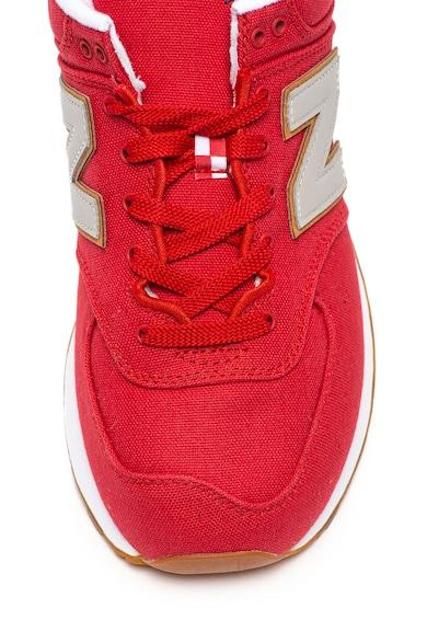 New Balance 574 sneaker kontrasztos logórátéttel férfi
