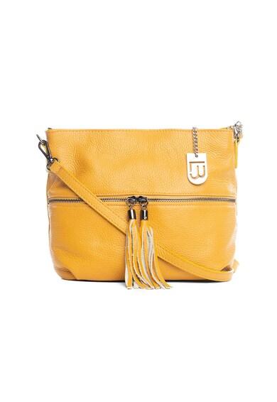 Lucca Baldi Кожена чанта Montepulciano с пискюл Жени