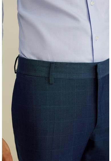 Mango Официален панталон Paulo с дискретен десен Мъже