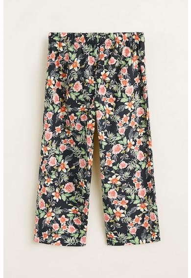 Mango Pantaloni culotte cu imprimeu floral Tropi Fete