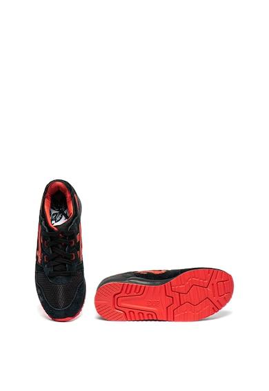 Asics Pantofi sport unisex de material textil si piele intoarsa GEL-Lyte III Femei