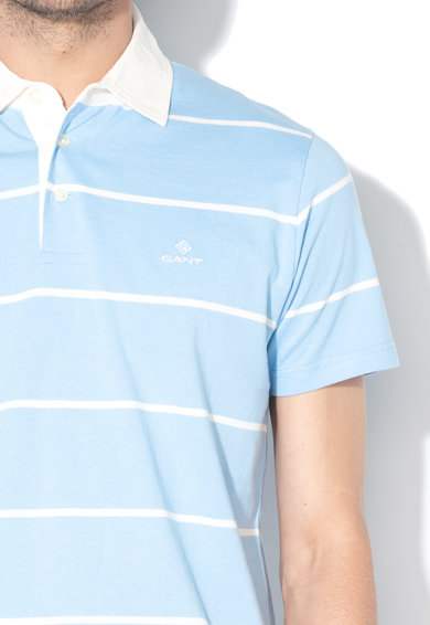 Gant Tricou polo cu model in dungi Barbati