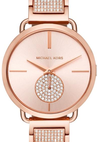 Michael Kors Ceas rotund decorat cu cristale Femei