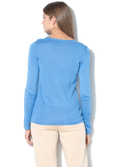 Tom Tailor Bluza din tricot fin, cu decolteu en-coeur Femei