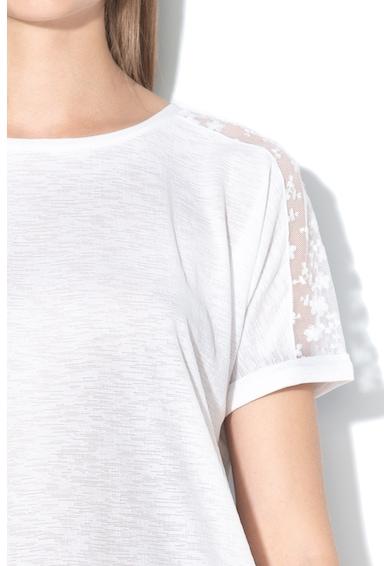 Tom Tailor Bluza lejera cu insertii de dantela Femei
