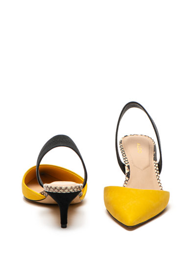 Aldo Pantofi de piele nabuc cu toc kitten Lovorelle Femei