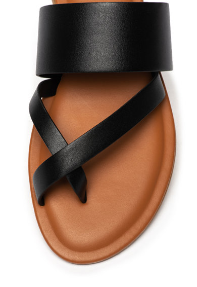 Aldo Papuci de piele cu bareta separatoare Celodia Femei