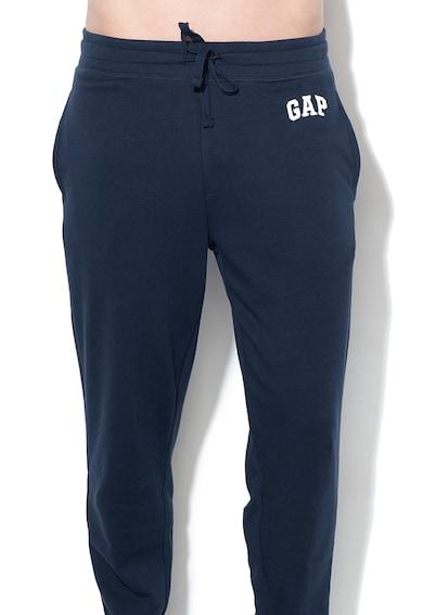 GAP Pantaloni sport cu snur si logo brodat Barbati