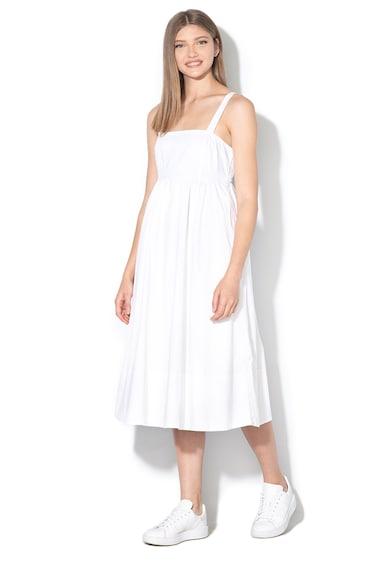 Banana Republic Среднодълга рокля с висока талия и панделка Жени