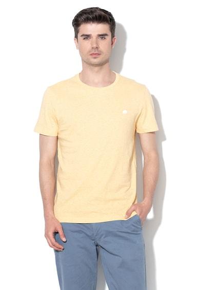 Banana Republic Памучна тениска с бродирано лого Мъже