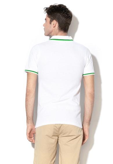 Geographical Norway Karaibe galléros póló kontrasztos szegélyekkel férfi