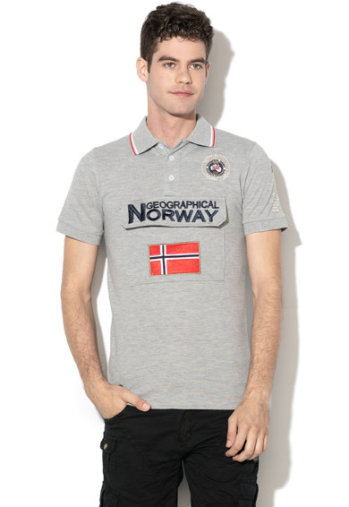 Geographical Norway Tricou polo cu buzunar frontal cu clapa Kayfour Barbati