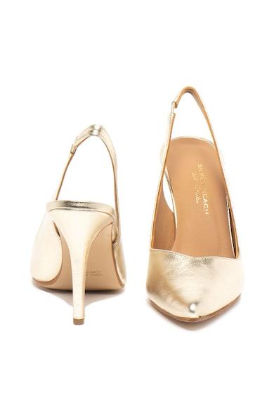 Silvian Heach Pantofi slingback de piele Tiquipaya Femei