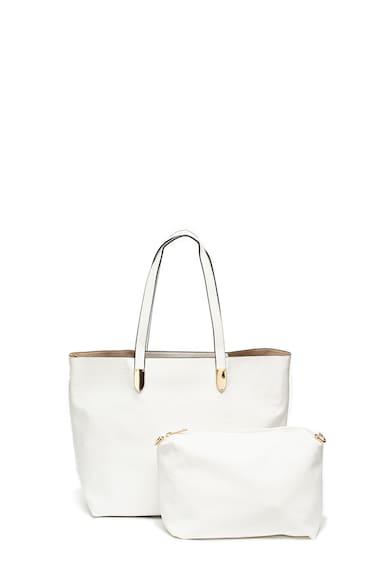 e07159ecf127 Shopper fazonú műbőr táska kivehető kistáskával - Francesca Rossi ...