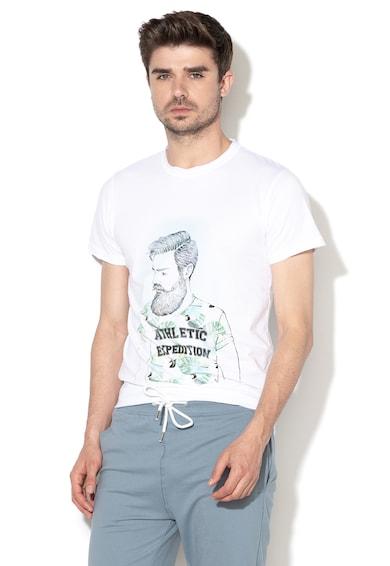 !Solid Tricou cu imprimeu grafic Benno Barbati