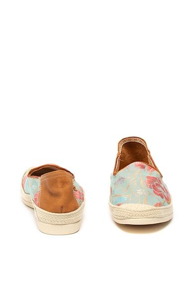 La Siesta Pantofi slip-on tip espadrile cu imprimeu floral Stevia Femei