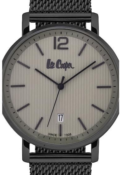 Lee Cooper Часовник с метална мрежеста верижка Мъже