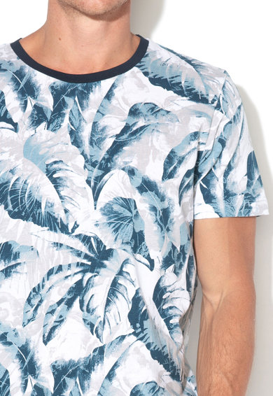 Selected Homme Tricou de bumbac organic Hawaii Barbati
