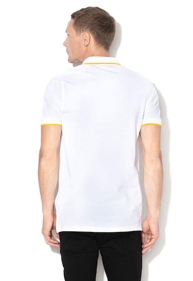 Jack&Jones Gerard galléros póló kontrasztos alsó szegélyekkel férfi