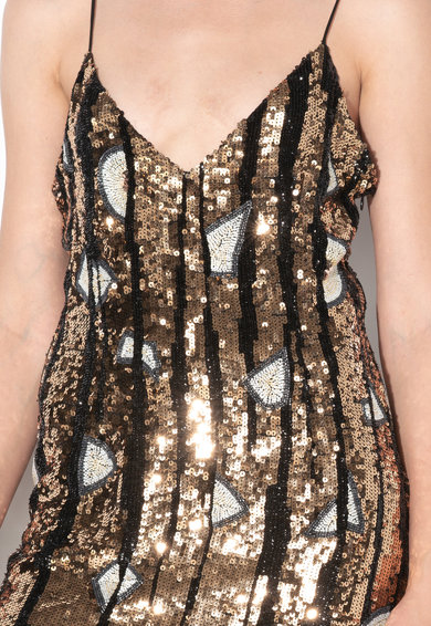 Free People Къса рокля с пайети Жени