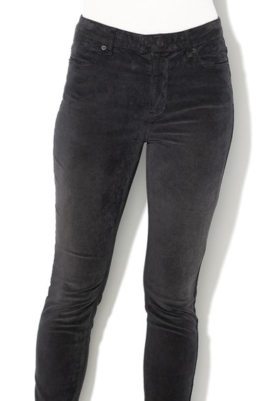 Free People Pantaloni conici din amestec de tencel si reiat Femei