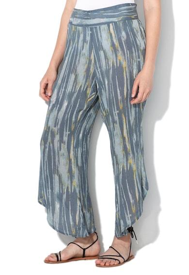 Free People Pantaloni cu imprimeu abstract si croiala ampla Femei
