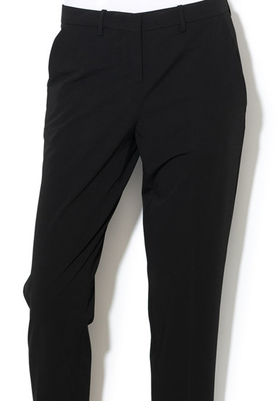 Love Moschino Pantaloni cu croiala conica si pensa Femei