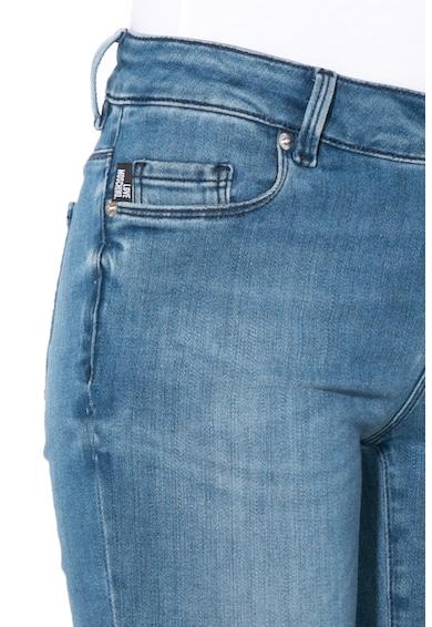 Love Moschino Skinny fit farmernadrág hímzéssel női